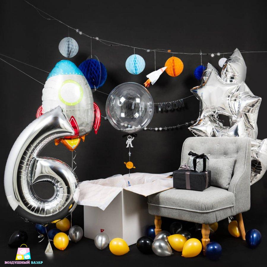 astronaut party theme - 960×960